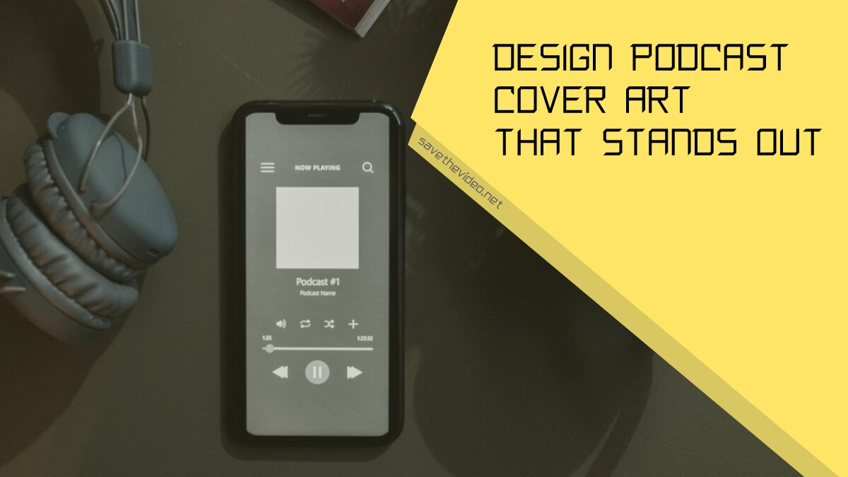 Design podcast cover art that stands out