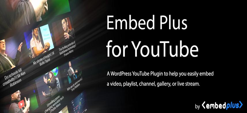 Embed Plus homepage