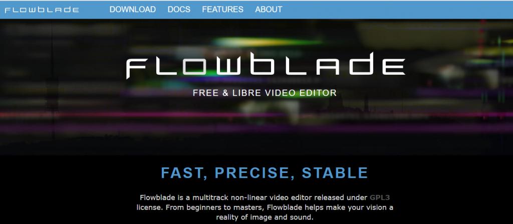 Flowblade homepage