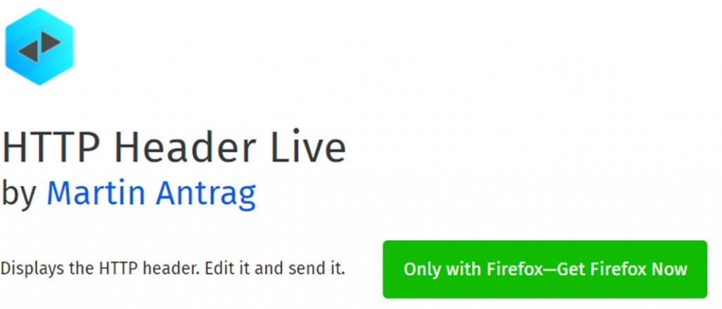 HTTP Header Live name and icon
