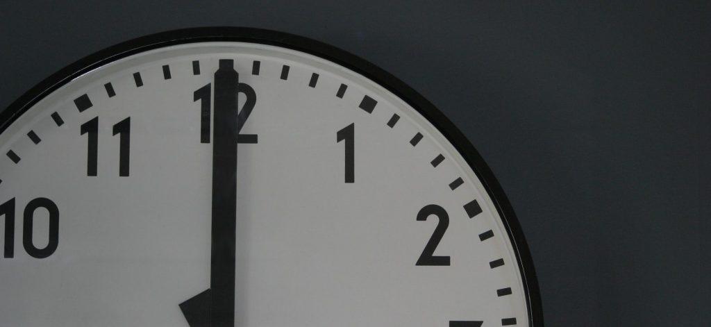 Image of a wall clock