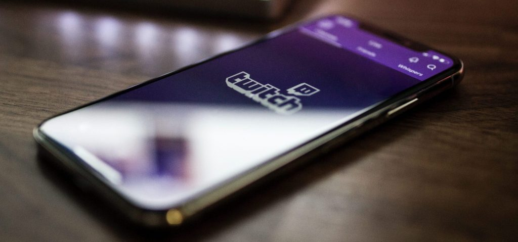 Image of Twitch on phone