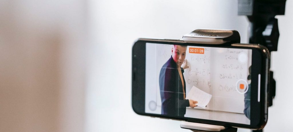 Phone filming