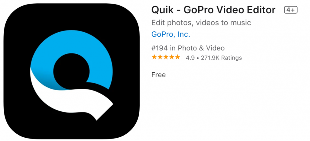 Quik icon and name