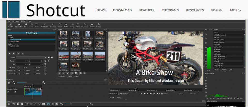 Shortcut homepage