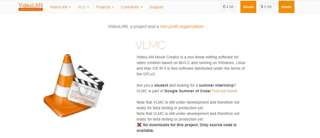 VLMC homepage