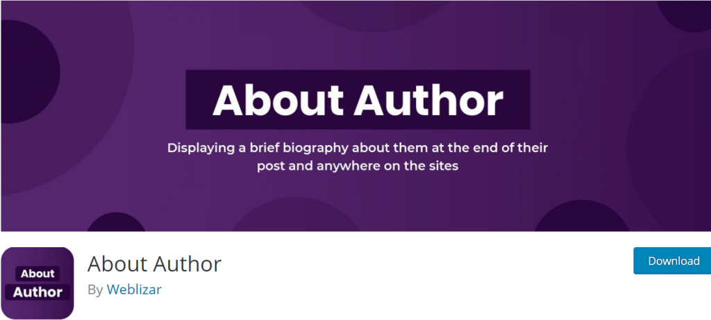 About Author banner