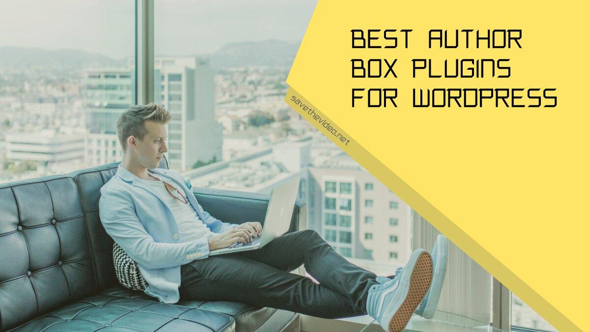 Best author box plugins