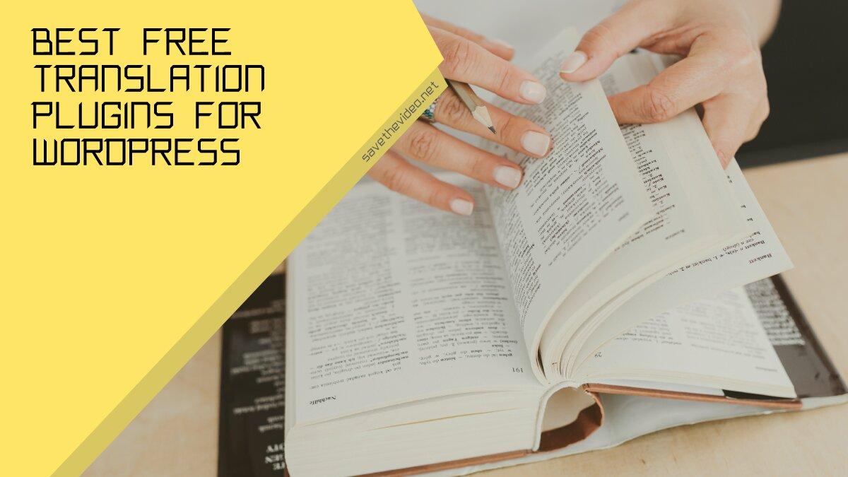 Best Free Translation Plugins