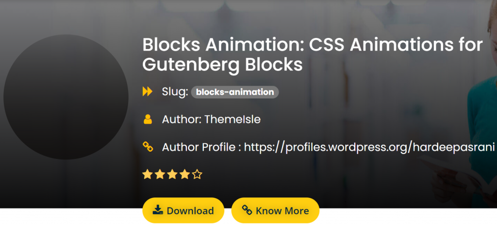Blocks Animation on FreeWP