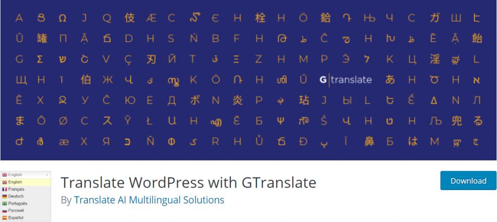 GTranslate banner