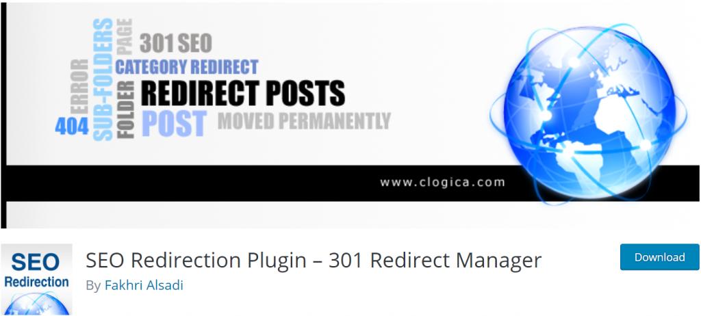 SEO Redirection banner