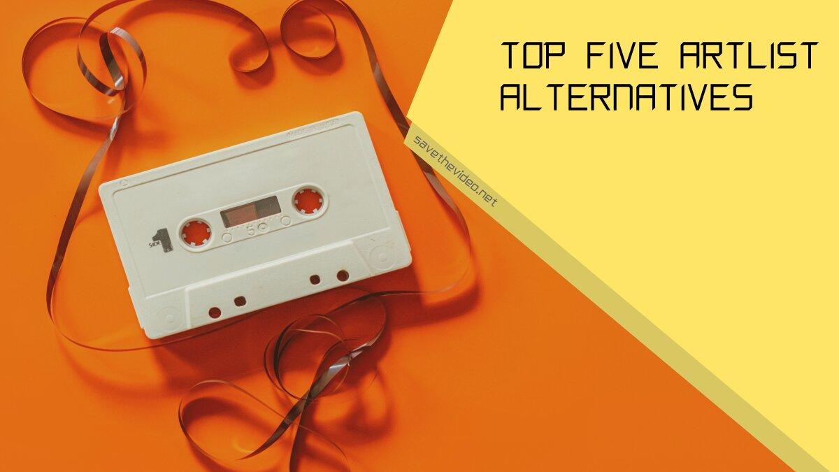 Top Five Artlist Alternatives