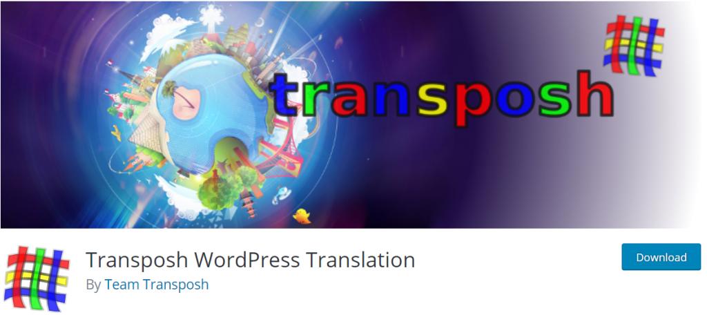 Transposh banner