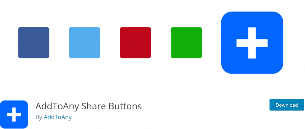 AddToAny Share Buttons banner