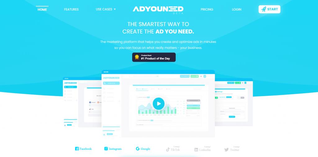 ADYOUNEED homepage