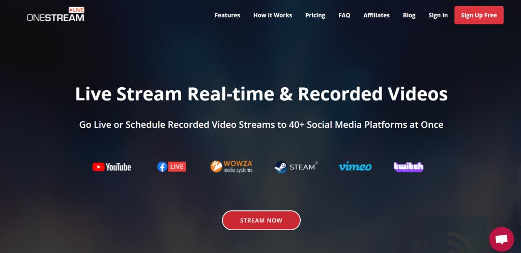 OneStream homepage