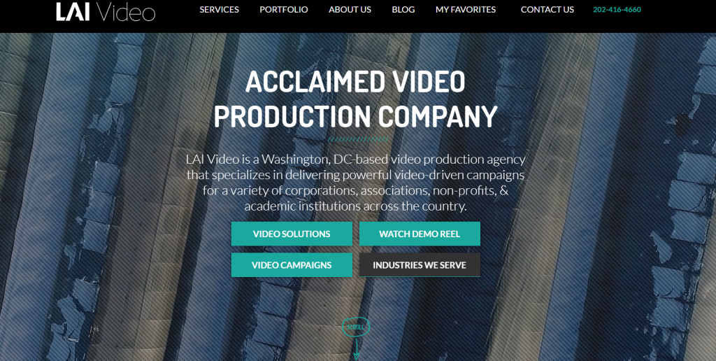 LAI Video homepage